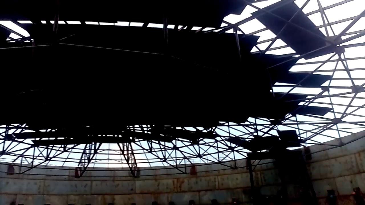 Oil Storage Tank Construction Video Youtube