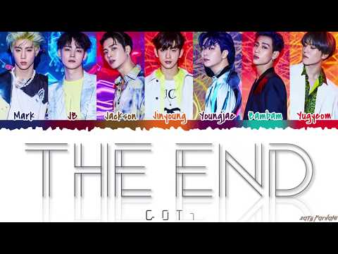 GOT7 갓세븐 - &39;THE END&39;  Color CodedHanRomEng