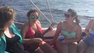 "Apryll Aileen Plays ""The Apryll Song"" (Ukelele on a Boat)"