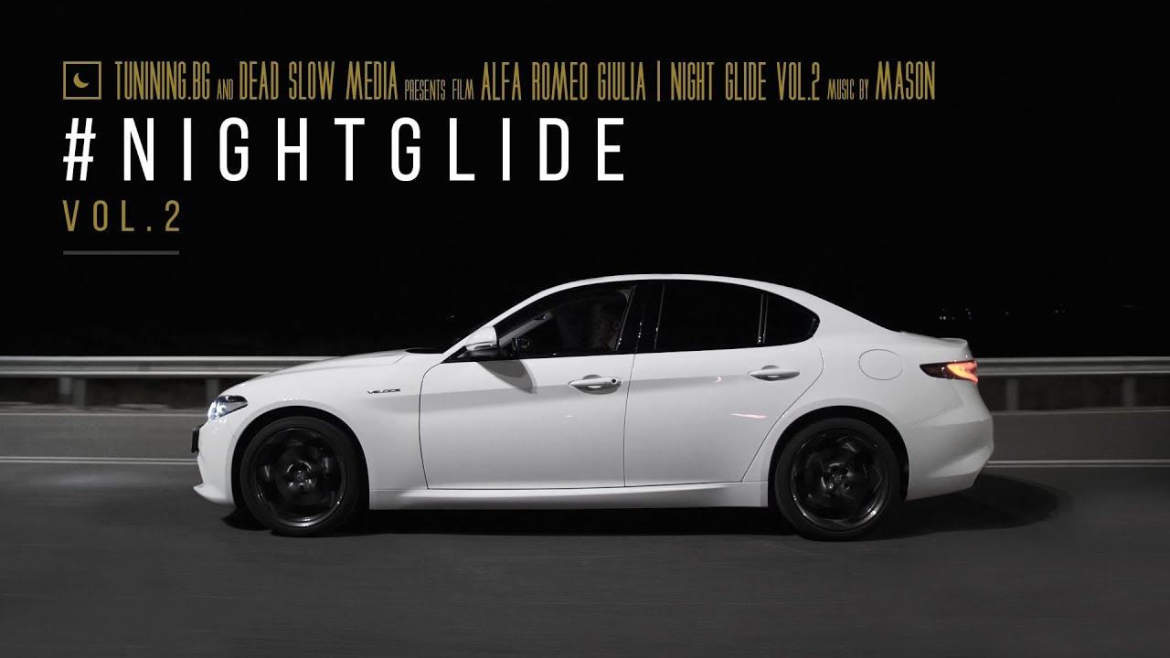 Alfa Romeo Giulia | Night Glide 4K - YouTube