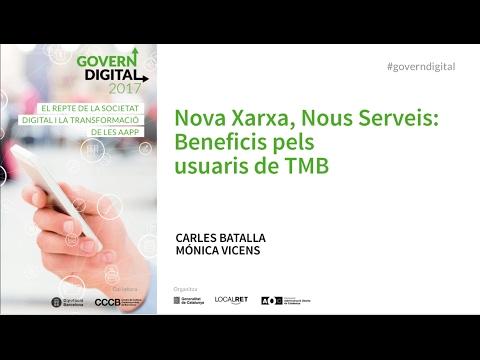 CGD 2017 - Nova Xarxa, Nous Serveis: Beneficis pels usuaris de TMB