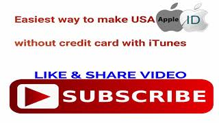 How To Create Apple ID (Without Credits Card) 2018VideoCitrus