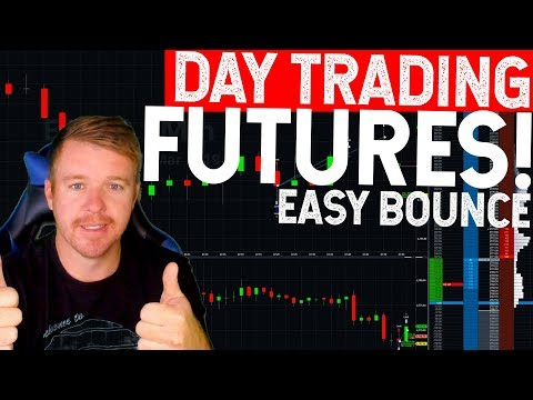 DAY TRADING LIVE! FUTURES! E-MINI $200+