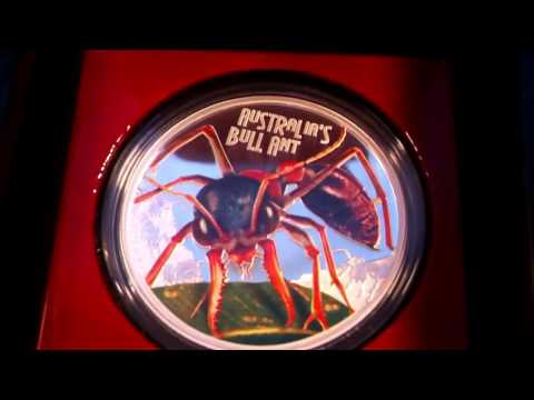 DEADLY AND DANGEROUS – AUSTRALIA'S BULL ANT 2015 1OZ SILVER PROOF COIN