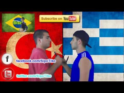 Greece vs. Turkey | Immortal Rap Battles Of Nations #6