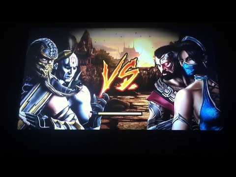 Mortal kombat 9-tag team ladder-scorpion and quin chi