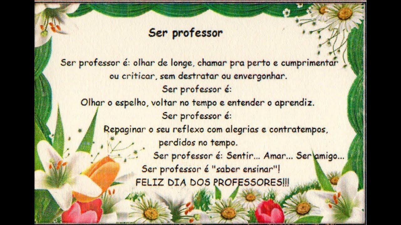 DIA DOS PROFESSORES 2015