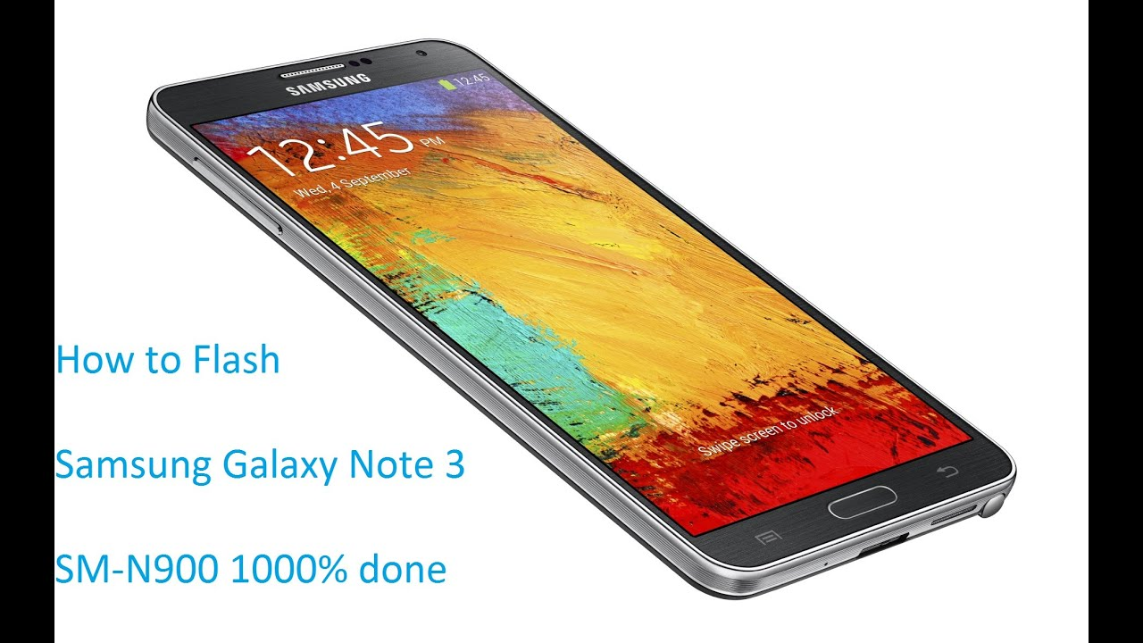 How to Flash Samsung Galaxy Note 3 SM-N900 1000% done odin tool by Smart  Phone Help