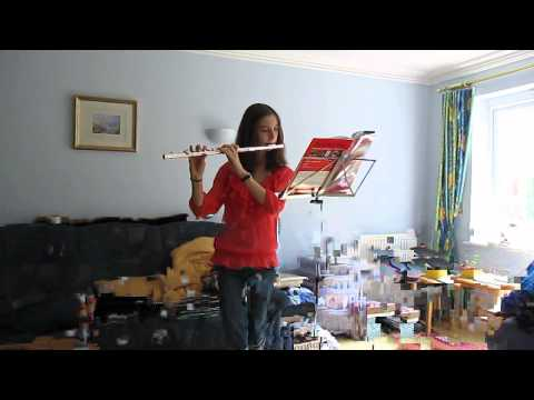 Me playing '21 Guns' by Green Day on flute