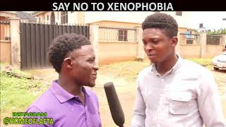 Say No to XENOPHOBIA (Homeoflafta comeday)