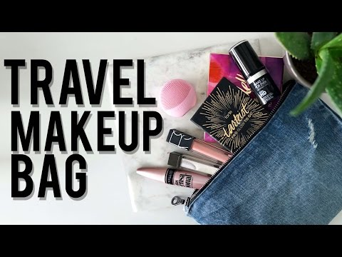 Make What's In My TRAVEL MAKEUP BAG: How To AVOID Overpacking | Ft. LUNA play | Jamie Paige Pics