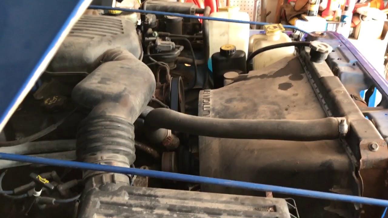 1999 jeep wrangler tj timing chain slap noise engine knock