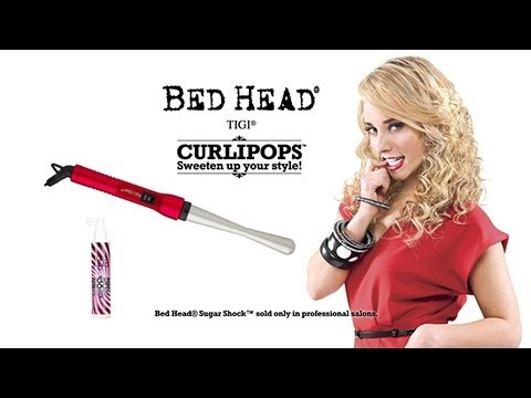 bed head curlipops review and demo! - youtube