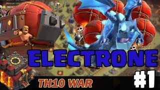 """[TH10 War] """"Electrone"""" Ghost Electro Dragon #1 - Clash of Clans"""