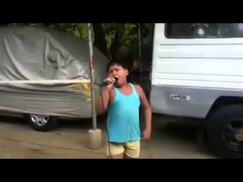 Amazing Filipino Kid singing Unchained Melody