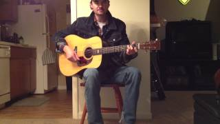 If we make it through December-Merle Haggard Cover by Cody Atkins