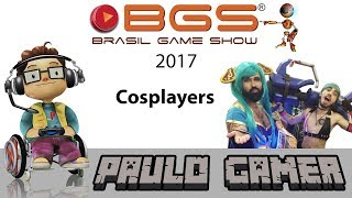 Brasil Game Show 2017 Cosplayers