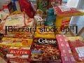 Aldi & Shoprite Haul | blizzard stock up
