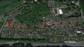 Sprendlingen: 90 Gartenhütten aufgebrochen