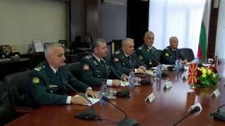 Посета на Началникот на ГШ на ВС на Бугарија