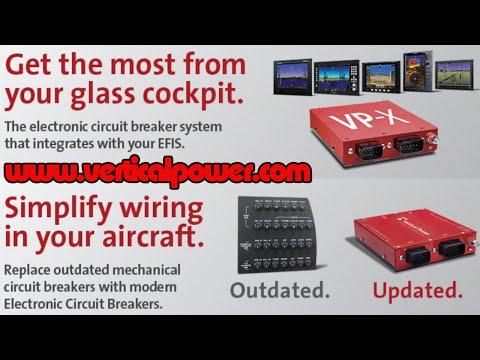 Vertical Power – electronic circuit breakers for experimental and light sport aircraft.