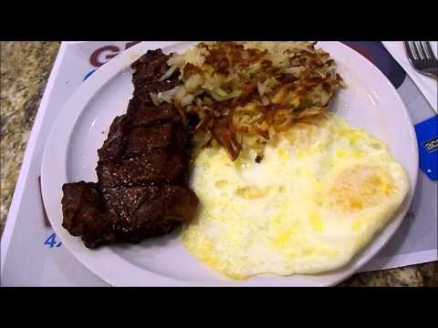 $4.99 steak and eggs at Arizona Charlie's, Las Vegas, NV