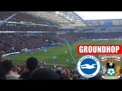 Groundhop Brighton And Hove Albion VS Coventry City /The AMEX Stadium
