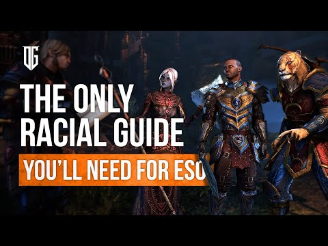 The Only Racial Guide You'll Need for ESO