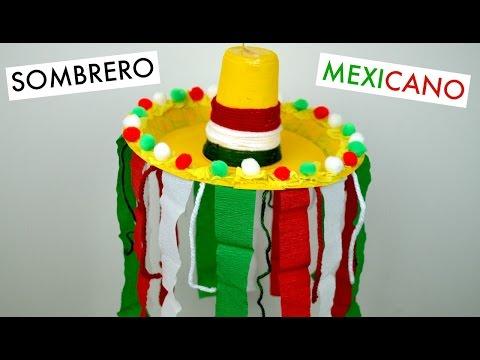 atractivo y duradero modelado duradero mejor venta Sombrero Mexicano│Espacio Creativo - YouTube
