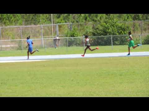 Eght Mile Rock Girls 400m Island Sports