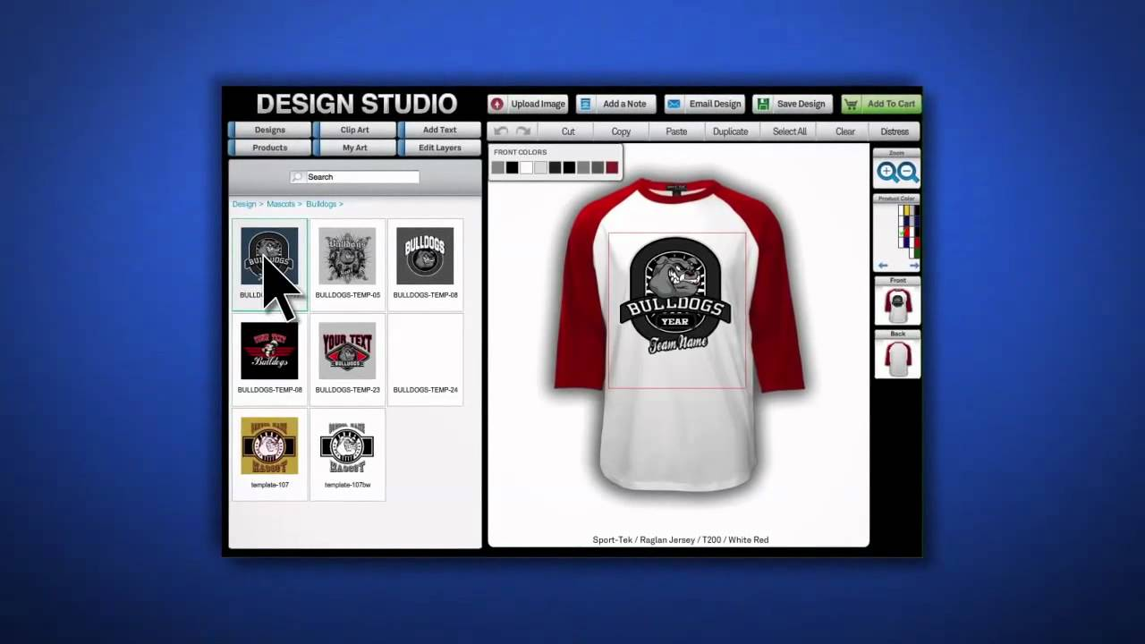 Inksoft t shirt designer software for screen printers for T shirt printing design software