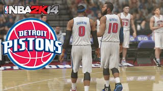 NBA 2K14 Xbox One - Detroit Pistons My GM Ep.12 -