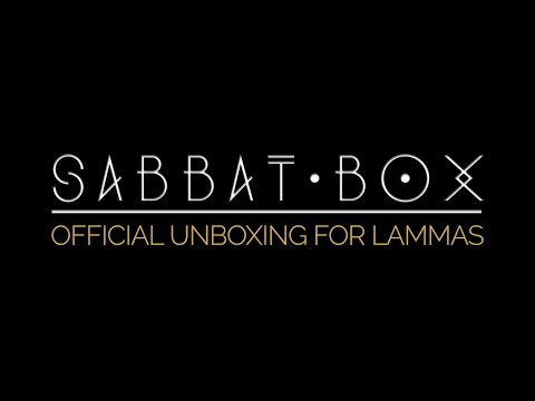 Sabbat Box - Lammas • Lughnasadh Official Unboxing Video • Reap, Sew, Magick