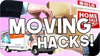 Moving Life Hacks! Things you NEED to know before Moving!