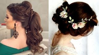 Latest Beautiful hairstyle for Long Hair girls | Bun hairstyles for Girls #3