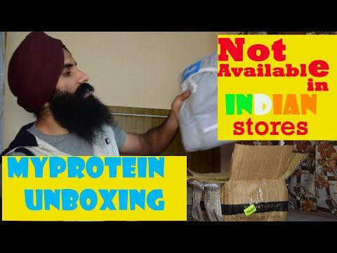 myprotein India Unboxing||Customs||Clothing Size Guide