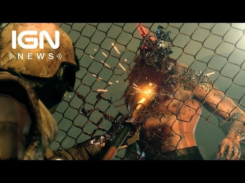 Kojima Calls Out Metal Gear Survive's Zombies - IGN News