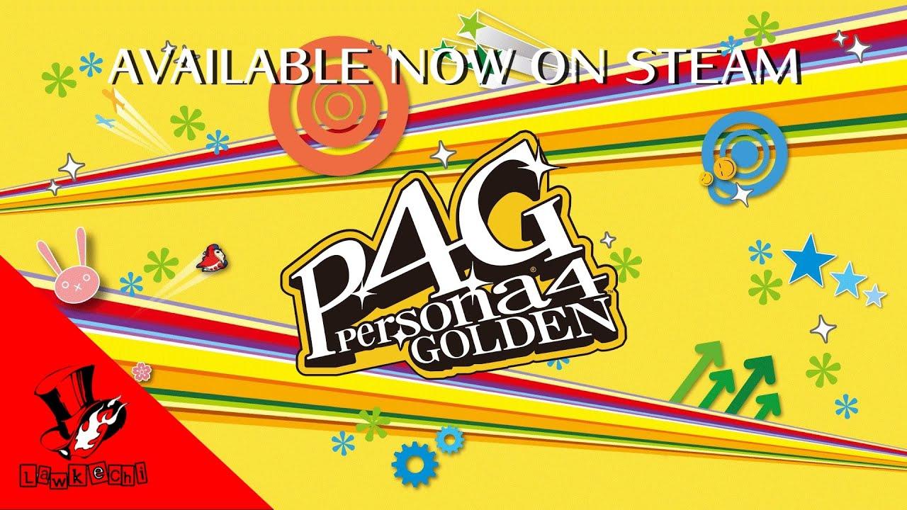 Persona 4 Golden | Steam Release Trailer
