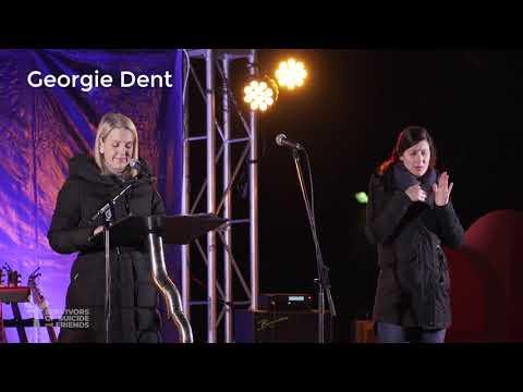 Georgie Dent at Winter Solstice 2021