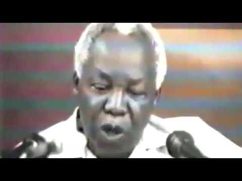 Mwalimu Julius Nyerere Last words to Rwandans