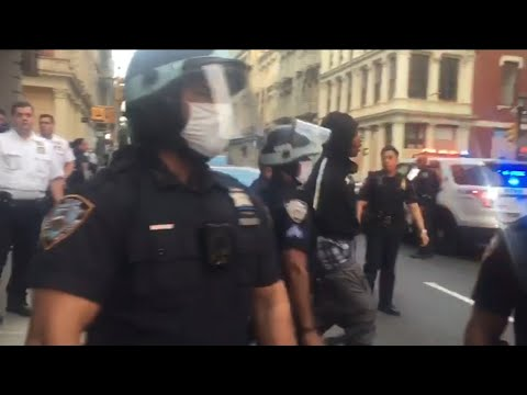 How NYPD restored order in NYC after looting, violent protests