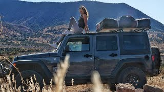 FROM VAN LIFE TO JEEP LIFE - Glamping In The Middle of Nowhere