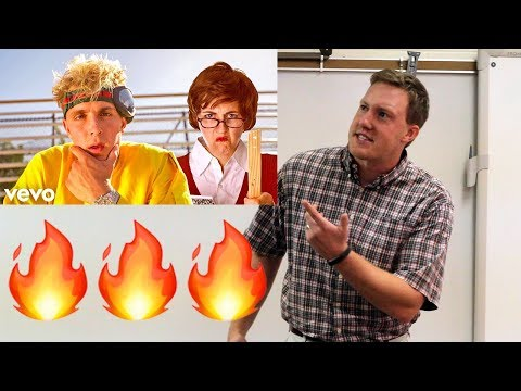 teacher responds to jake paul's diss track  video