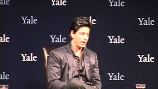 Q&A: Shah Rukh Khan Answers a Question from Yale Law School Student, Nikhil Sud