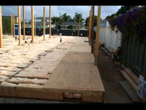 Part 3 Raised Floor Framing With Plywood Or Osb