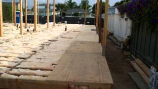 Part 3 - Raised Floor Framing With Plywood Or Osb Sheathing