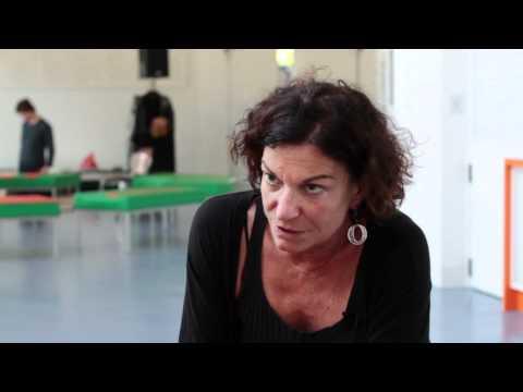 Barbara Kantel (Leitung Junges Schauspielhaus) im Gespräch bei Gustaf-TV, 3min.