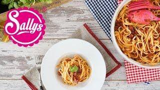 Spaghetti alla Carbonara à la Sally & Murat / 10 Minuten Rezept