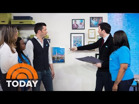 'Property Brothers' Stars Unveil Habitat For Humanity Project In Nashville | TODAY