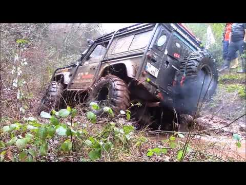 EXTREME OFFROAD  **14-01-2018**  Land Rover Defender & Discovery TD5   Katil 2018
